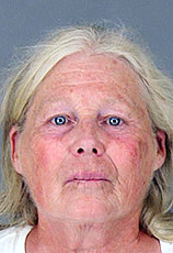 Susan Guillot, 62, was arrested on suspicion of running a horse sale scheme in Good Hope. (Photo Courtesy of Riverside County Sheriff's Department)