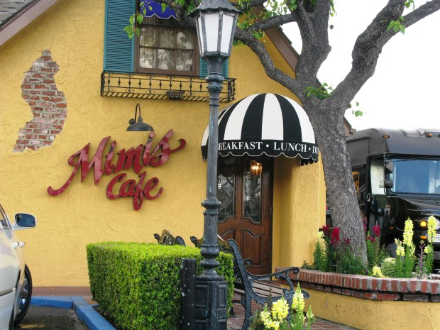 The original Mimi's Cafe, on Euclid Street in Anaheim, was granted a distilled spirits license this week. They will begin serving mixed alcoholic drinks for the first time in 32 years later this month.