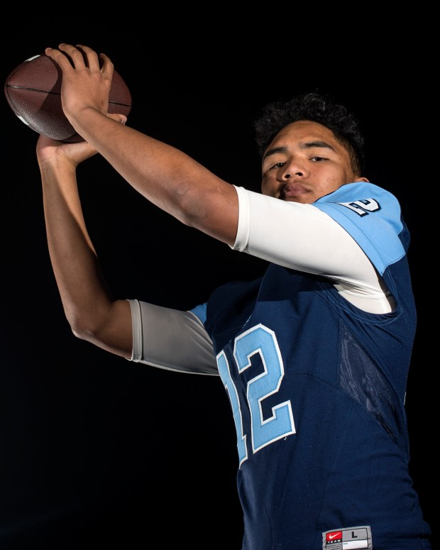Tae Le, Corona del Mar, wide receiver. (Photo by Kyusung Gong/ Orange County Register, SCNG)