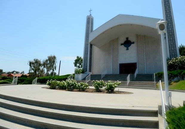 Saint Nicholas Greek Orthodox Church in Northridge on July 10, 2017. (Photo by Dean Musgrove, Los Angeles Daily News/SCNG)