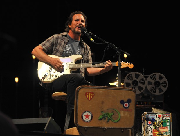 Eddie Vedder will once again curate the annual Ohana Festival at Doheny State Beach in Dana Point Friday, Sept. 28-Sunday, Sept. 30.(Photo by Kelly A. Swift, contributing photographer)