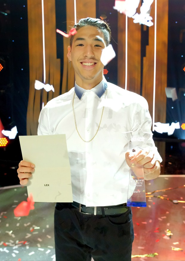 "Lex Ishimoto is crowned America's favorite dancer on the season finale of ""So You Think You Can Dance"" on Monday, Sept. 25. (Photo by Adam Rose, Fox)This image is embargoed until Monday, September 25, 10:00PM PT / 1:00AM ET"