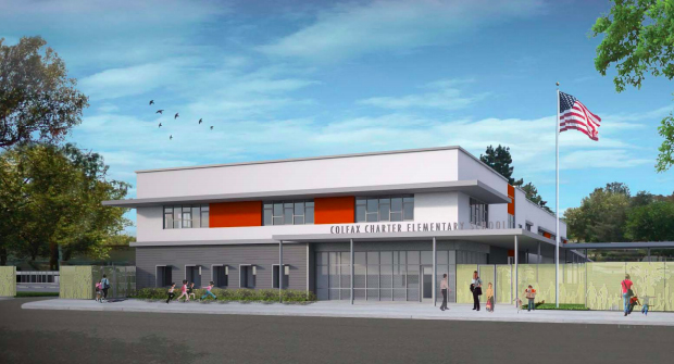 Artist rendering for Colfax Elementary School.