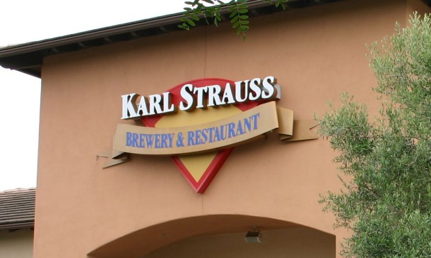In late September, Karl Strauss in Costa Mesa closed temporarily for a major remodel. It is expected to reopen in early November, company spokeswoman Kiersten Winant said. (Courtesy of Wikimedia Commons)
