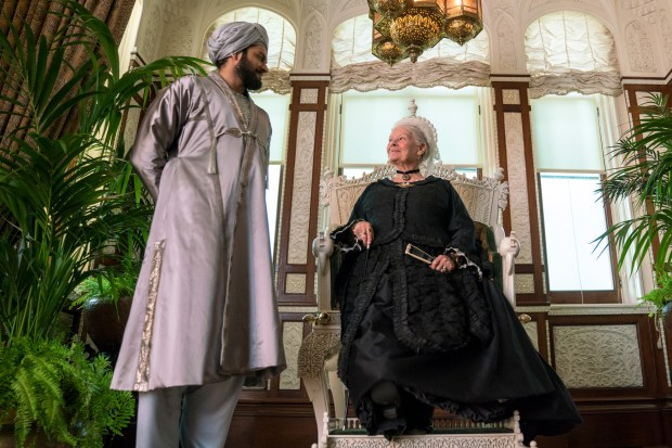 Judi Dench (right) and Ali Fazal in the title roles of Victoria & Abdul. Photo courtesy Focus Features.