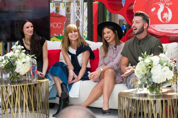 Style Week OC panelists from left to right: from left to right – Cheresse Pentella, Jjill Johnston, Emily Cholakian and Daniel Musto.