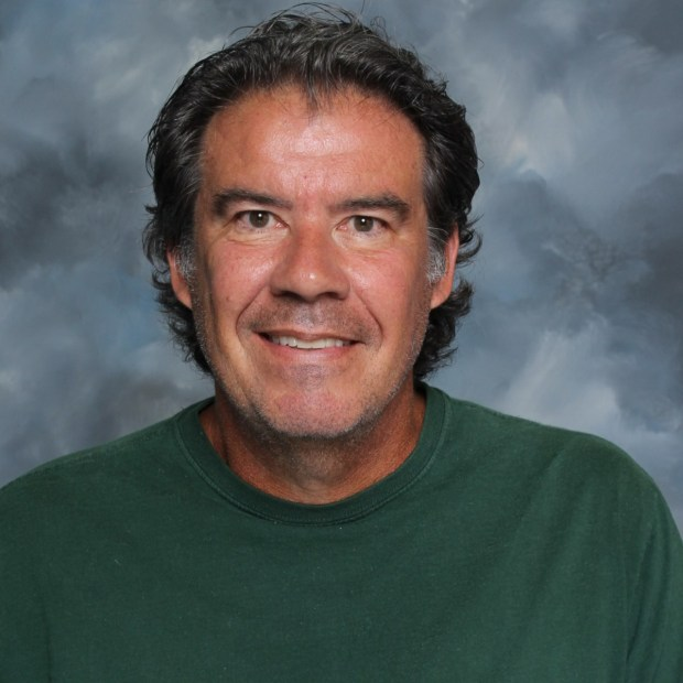 Harry Davis teaches visual arts at Villa Park High School. (Photo courtesy of Villa Park High School)