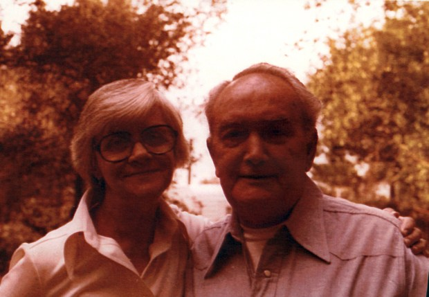 Joe DePalma, owner of DePalma's Italian Village, with wife Allyne, in the 1970s.Photo courtesy of Michelle Monge