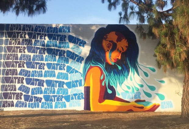 A Kristy Sandoval mural, as seen on her Facebook page.