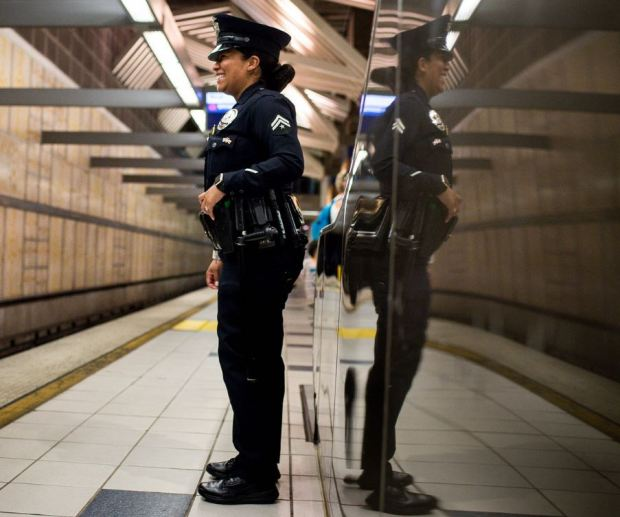 The LAPD has the largest law enforcement presence in L.A. Metro's system— the third-largest in the country — for the first time since 2003.