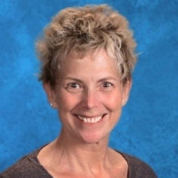 Laurye Bates teaches theater arts at Marina High School. (Photo courtesy of Marina High School)