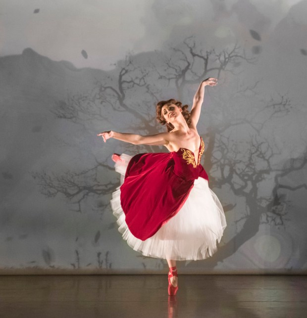 """Ashley Shaw in Matthew Bourne's production of """"The Red Shoes."""" """"The Red Shoes"""" will be presented by Center Theatre Group and Glorya Kaufman Presents Dance at The Music Center at the Ahmanson Theatre September 15 through October 1, 2017. For season tickets and information, please visit CenterTheatreGroup.org or call (213) 972-4444. Press Contact: CTGMedia@CTGLA.org / (213) 972-7376. Photo by Johan Persson."""