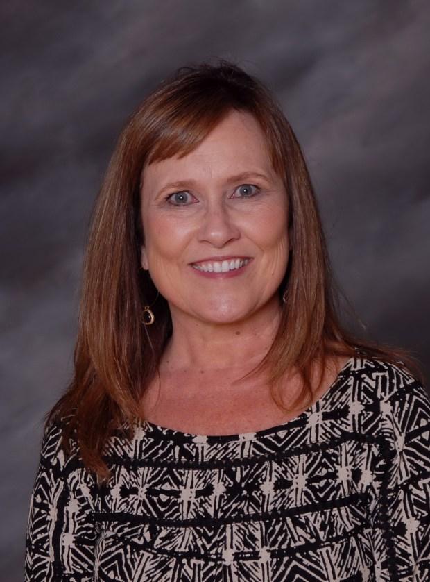 Pam Hansen teaches creative worship at Orange Lutheran High School. (Photo courtesy of Orange Lutheran High School)