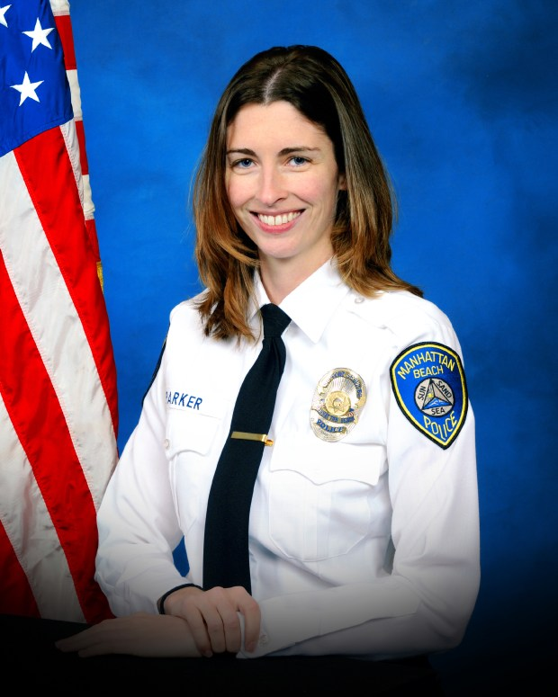 Rachael Parker, a Manhattan Beach Police Records Technician was killed in the Las Vegas shooting Sunday Night. Credit Manhattan Beach Police Department.