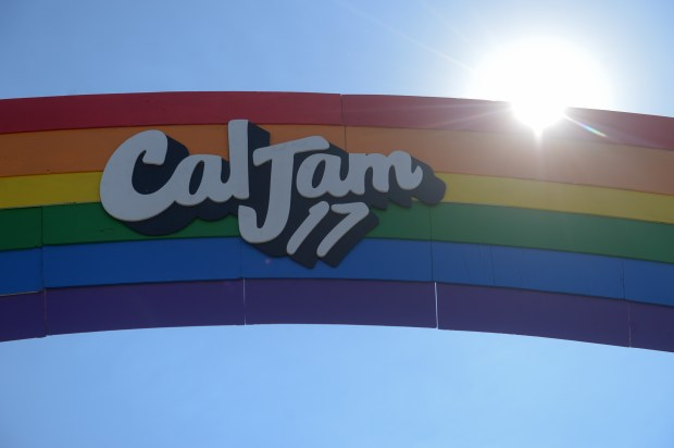 Cal Jam 17 at Glenn Helen Amphitheater in San Bernardino, Ca., October 7, 2017. (John Valenzuela/The Sun/SCNG)