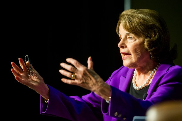 U.S. Sen. Dianne Feinstein (Photo by Watchara Phomicinda, The Press-Enterprise/SCNG)