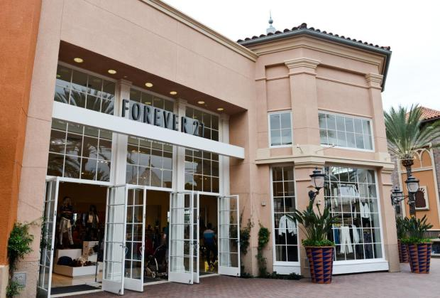 No. 302: Do Won and Jin Sook Chang, 61, of Beverly Hills worth $2.7 billion from fashion retail. Pictured is the Irvine Spectrum Center Forever 21 store.