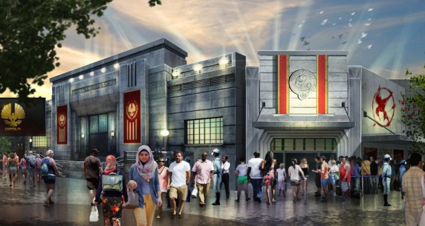 "The world's first ""Hunger Games"" land opened at Motiongate Dubai. (Photo courtesy of MOTIONGATEDUBAI.com)"