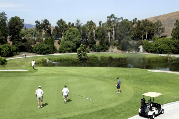 File photo of the 9th hole at the Diamond Bar Golf Course in Diamond Bar. (SGVN file photo)