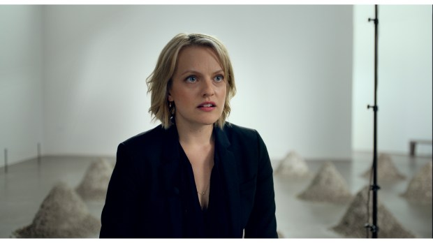"Elisabeth Moss in ""The Square."" Photo courtesy of Magnolia Pictures."