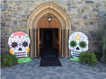 Dia de Los Muertos at Fairhaven Memorial Park. Photo courtesy of Fairhaven.