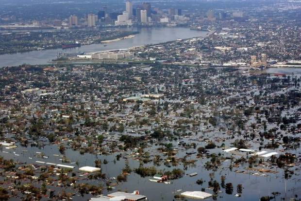 Hurricane Katrina ravaged New Orleans in 2005. (Associated Press file photo)