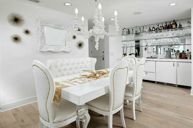 Kelly Dodd dining room