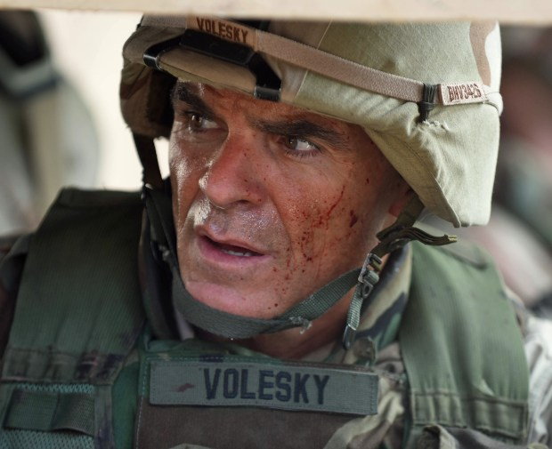 "Michael Kelly as Lt. Col. Gary Volesky in ""The Long Road Home."""