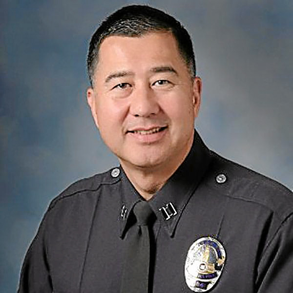 Brian Johnson, who was Upland police chief since 2015, is no longer employed in the position; Johnson's last day was Friday, Oct. 27. File photo