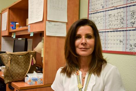 Kathleen Sarmento is the director of nursing at Santa Rosa Community Health. (Barbara Feder Ostrov/California Healthline)