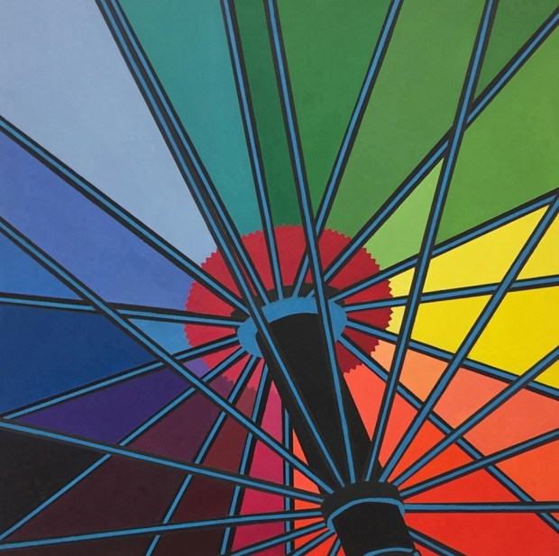 "Timothy Haerens created ""Under the Umbrella"" in 2017. (COURTESY QUINTON BEMILLER)"