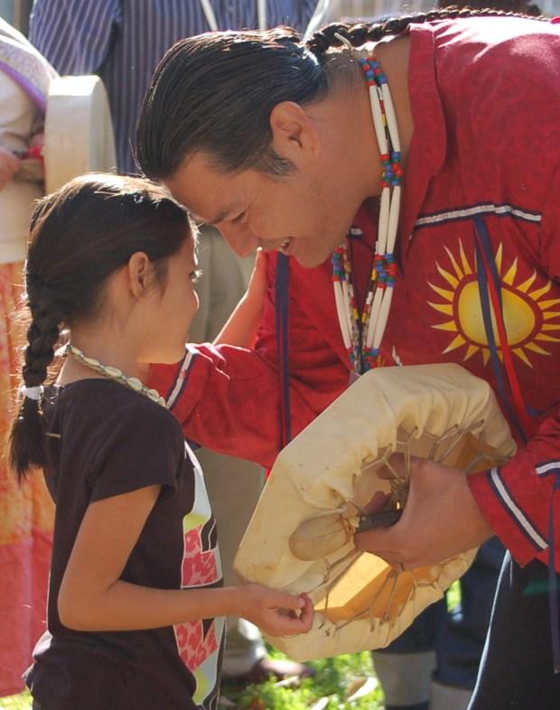 Drummer Rudolph Medina will participate in Trinity Episcopal Church's Native American service. (Courtesy Photo)