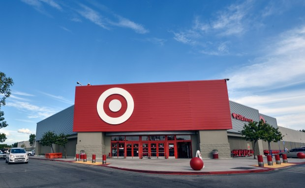 The front of the newly remodeled Target store on Tustin Street in Orange is shown on Friday, Nov. 17. (Photo by Jeff Gritchen, Orange County Register/SCNG)