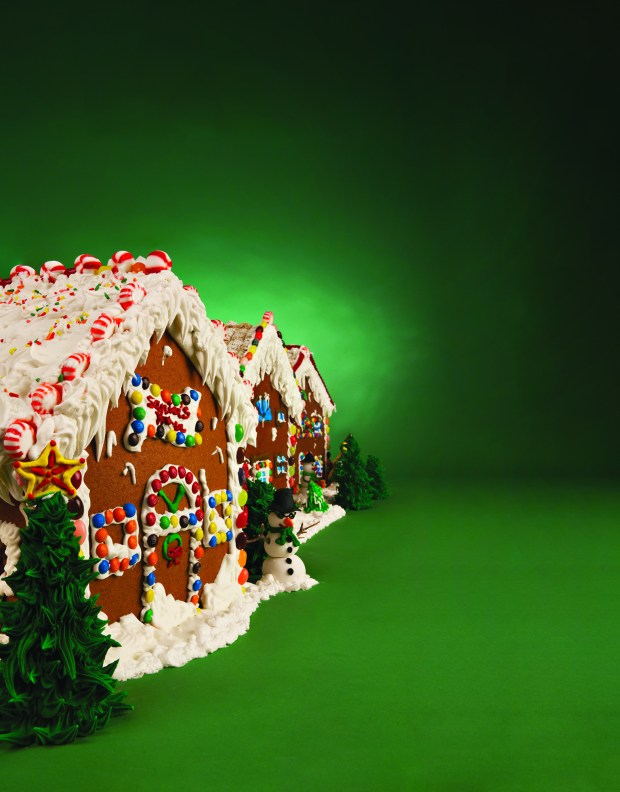 500 hand-crafted gingerbread houses are for sale at Pechanga Resort & Casino this holiday season. (Courtesy of Pechanga Resort & Casino)