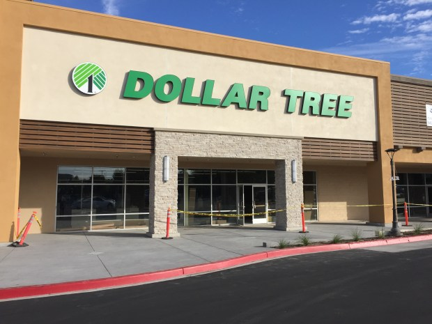 The Dollar Tree in the Willow Tree Shopping Center in Laguna Woods is expected to open by the end of December. (Photo by Emily Rasmussen, contributing photographer)