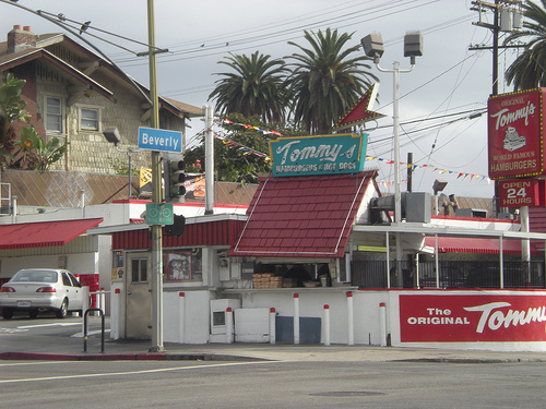 Participants of The Great Walk Los Angeles will pass by the Original Tommy's on their way to Santa Monica. Photo courtesy Great Walk
