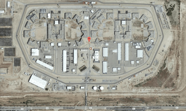A correctional officer was attacked by an inmate Monday, Nov. 20, 2017, at Califoria State Prison Los Angeles County in Lancaster. (Google Maps)