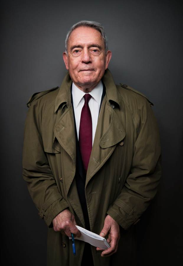 Journalist Dan Rather will make two Southern California appearances to discuss his new book. /Courtesy of Algonquin Books