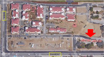 The Redlands Fire Department will conduct live fire training at a vacant apartment complex near Orange Street and Lugonia Avenue Saturday, Nov. 4 through Tuesday, Nov. 7. (Courtesy)