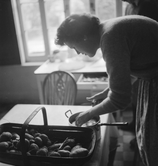 "An image featured in the new book, ""France Is A Feast: The Photographic Journey of Paul and Julia Child."" (Photo by Paul Child, © The Schlesinger Library, Radcliffe Institute, Harvard University)"