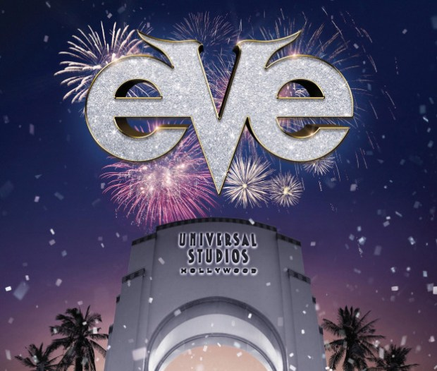 New Years Eve at Universal Studios Hollywood.