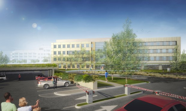 Mission Hospital is scheduled to break ground on its Comprehensive Cancer Institute in January. (Courtesy of Mission Hospital)