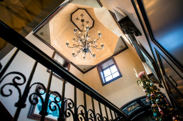 The cupola of a 7,238-square-foot Covina home is featured, asking price is $5.6 million Dec. 11, 2017. The 4.32 acre horse property is located on E. Lorencita Drive. (Photo by Leo Jarzomb, SGV Tribune/ SCNG)