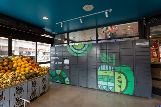 Amazon is adding more Amazon Lockers to Whole Foods Market stores in Southern California. (Courtesy Whole Foods)