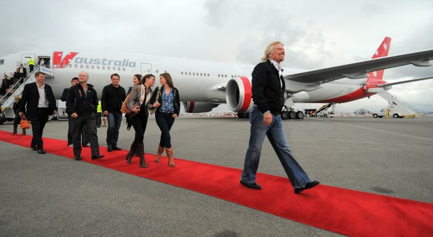 Richard Branson, founder of the Virgin Group, will become the Chairman of Virgin Hyperloop One. (File Photo, Scott Varley, Daily Breeze/SCNG)