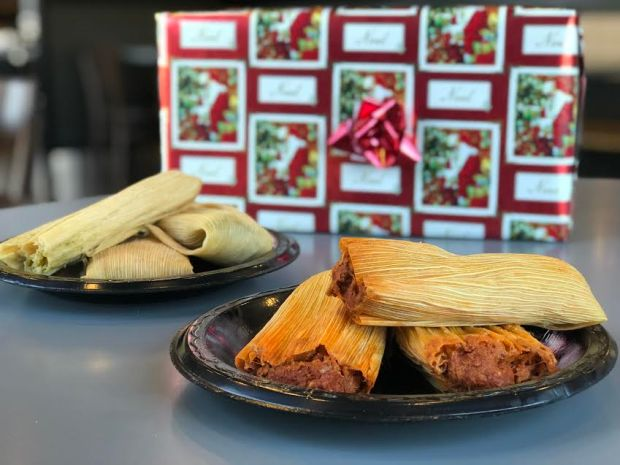 Miguel's Jr. is offering holiday tamales at its various locations. Photo courtesy Miguel's Jr.
