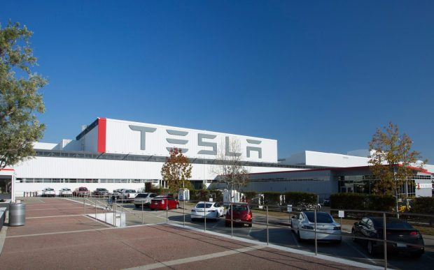 Tesla's factory in Fremont. Photo: Courtesy of Tesla