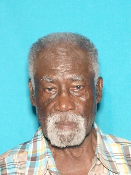 George Thomas Gaston, 80, has been missing since Wednesday evening from a care facility in Lynwood. He suffers from diabetes and dementia. (Image courtesy of the LA County Sheriff's Department)