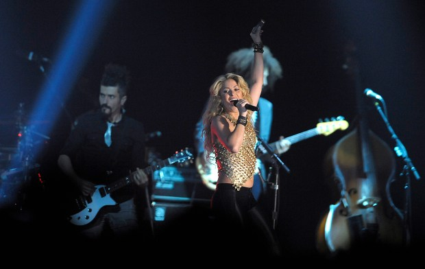 International superstar, Shakira, will hit Southern California on her 2018 tour including stops at the Forum in Inglewood; Honda Center in Anaheim; and Valley View Casino Center in San Diego. (Photo by Rodrigo Pena, The Press-Enterprise/SCNG)