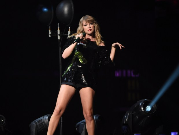 Taylor Swift will bring her Reputation Stadium Tour to the Rose Bowl in Pasadena on Friday, May 18 and Saturday, May 19. (Photo by Evan Agostini, Associated Press)